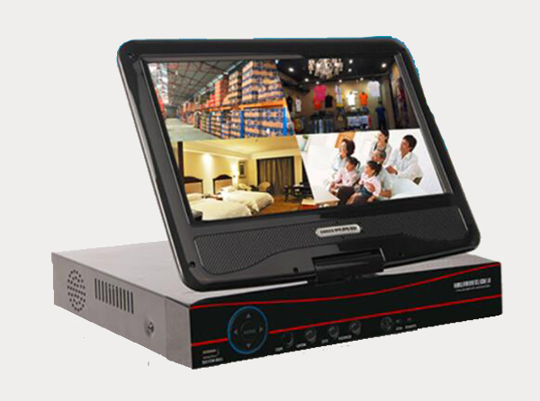 10寸带屏NVR硬盘录像机